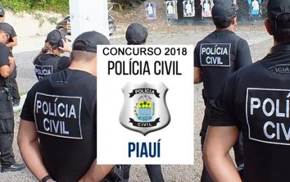 Inscrições para concurso público da Polícia Civil já iniciaram