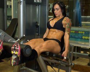 Treino pesado para pernas e glúteos feminino