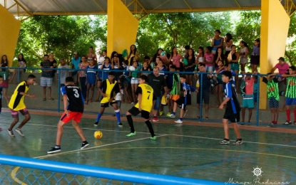 Torneio interclasse de futebol de salão movimenta Bertolínia