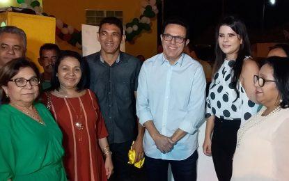 Prefeita de Jerumenha entrega UBS e academia para comunidade Barra do Lance