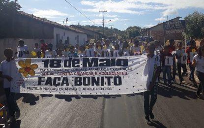 Caminhada marca o Dia de Combate à Exploração Sexual de Crianças e Adolescentes em Jerumenha