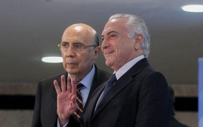Temer desiste de reeleição, apoia Meirelles candidato e avisa: 'é bom concordar'