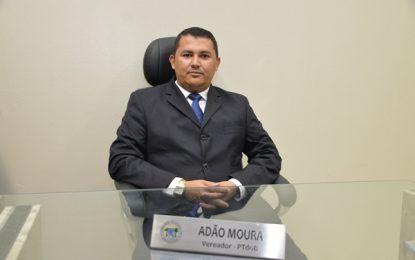 Em relação a indiretas de colega de bancada Adão Moura foi curto e grosso