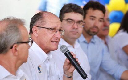 No Piauí, Alckmin diz que PSDB está preparado para eleições com ou sem Lula