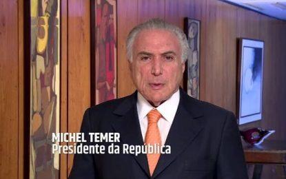 Michel Temer aciona forças federais para desbloquear estradas