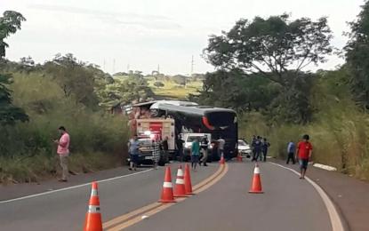 Ônibus que saiu de Picos bate de frente com caminhão e deixa 4 mortos no Tocantins