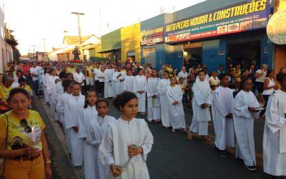 Multidão prestigia encerramento dos festejos de Santo Antônio em Jerumenha