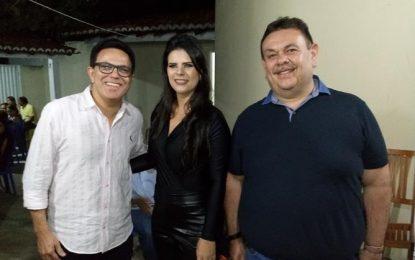 Deputados Zé Santana e Silas Freire participam dos festejos de Jerumenha