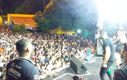 Márcia Felipe arrasta uma grande multidão nos festejos de Jerumenha