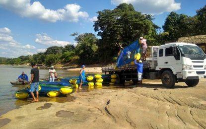 Pescadores de Artur Passos em Jerumenha recebem tanques redes