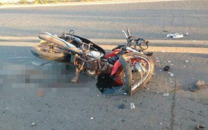 Mulher morre em acidente grave na BR-343