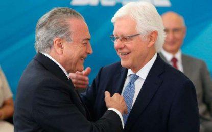 PF pede ao STF quebra do sigilo telefônico de Temer, Moreira e Padilha