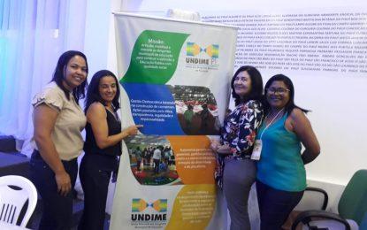 A cidade de Marcos Parente é representada em Fórum dos Dirigentes Municipais de Educação, realizado nos dias 14 e 15 de junho, em Teresina