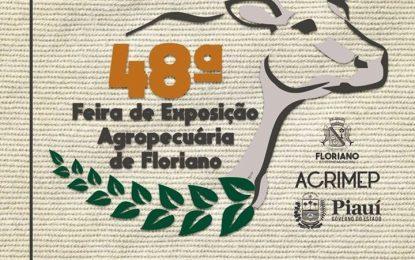 Divulgada programação da 48º Exposição de Floriano