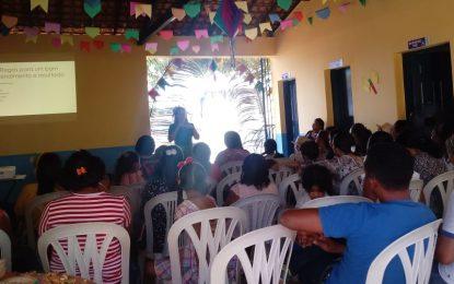 NASF de Marcos Parente realiza encontro junino com usuários e profissionais