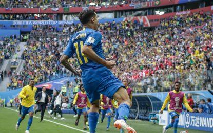 Brasil desencanta no fim, faz 2 a 0 nos acréscimos e elimina a Costa Rica.