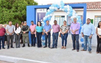 Celebrando os 121 anos de Floriano, Prefeitura inaugura UBS do Amolar