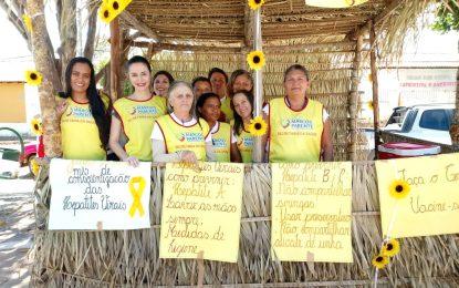 Atividades em alusão ao Julho Amarelo são realizadas em Marcos Parente