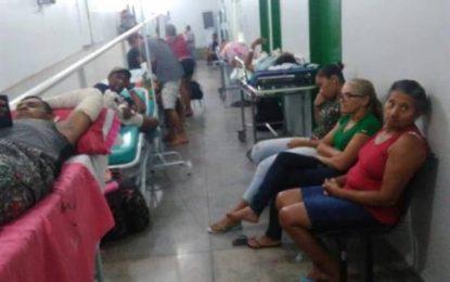 O caos na Saúde Pública do Piauí: pacientes aguardam cirurgias nos corredores do hospital regional Tibério Nunes em Floriano