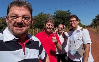 Avião com ex-governador Wilson Martins faz pouso forçado em Timon
