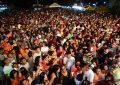 Forró Sacode e Arreio de Ouro arrastão multidão nos Festejos de Marcos Parente
