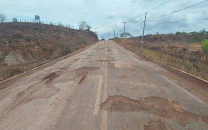 Justiça obriga DER a retomar obras de recuperação da PI-245