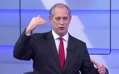 Ciro diz que como presidente vai renegociar reforma trabalhista