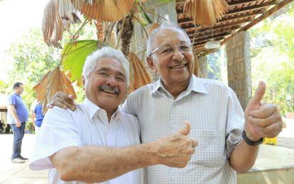 Elmano se reúne com Dr. Pessoa e confirma Frank Aguiar na oposição