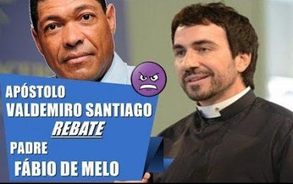 Apostolo Valdemiro bate boca com Fábio de Melo após críticas do padre