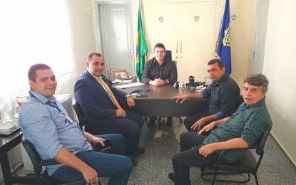 João Luiz participa de reunião com Deputado Georgiano Neto