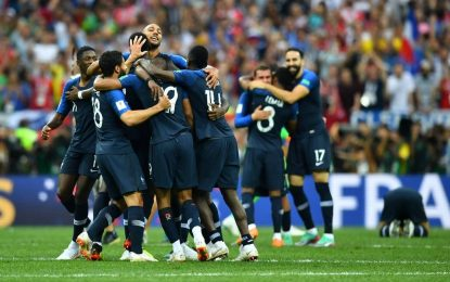 França vence a Croácia por 4 a 2 e conquista o bicampeonato na Rússia