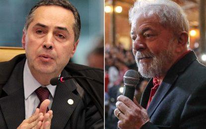 Barroso é o relator de registro da candidatura de Lula