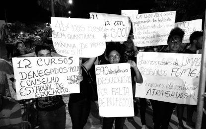 Wellington Dias é hostilizado durante inauguração de comitê em Campo Maior