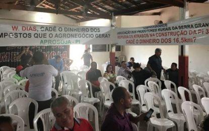 W. Dias é recebido com faixas em Uruçuí; (CADÊ O DINHEIRO GOVERNADOR?)
