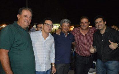 Deputado Zé Santana participa do encerramento dos Festejos de Bertolínia