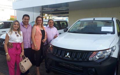 Prefeitura de Marcos Parente conquista veículo para atuar na Vigilância de Saúde