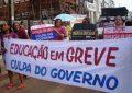 Greve dos professores da rede estadual do Piauí chega ao 73º dia