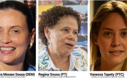 Protagonismo feminino na eleição do Piauí pode atrair votos de indecisos