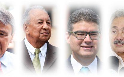 Eleições 2018: Wellington Dias cai de 50 para 41,13%, Dr. Pessoa aparece com 11,65%, Luciano Nunes com 7,58% e Elmano Férrer com 3,05%.