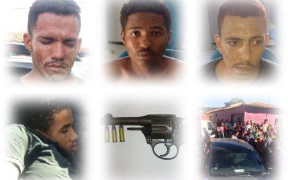 Ação policial em São João dos Patos resulta em 1 bandido morto e 3 presos