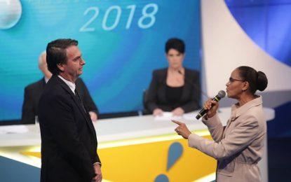 Marina diz que fala do vice de Bolsonaro sobre mães e avós é uma afronta