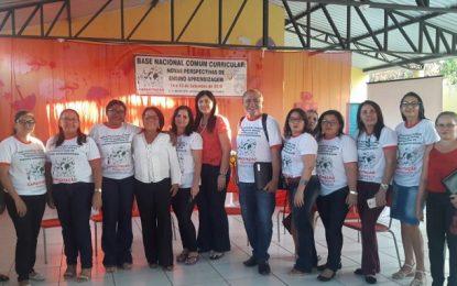 Professores de Marcos Parente participam de encontro de formação em BNCC