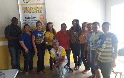 Jerumenha realiza palestras nas escolas municipais no Setembro Amarelo