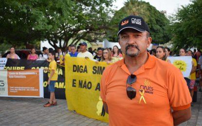ONG Tony Marcos realiza caminhada em alusão ao Setembro Amarelo em Guadalupe