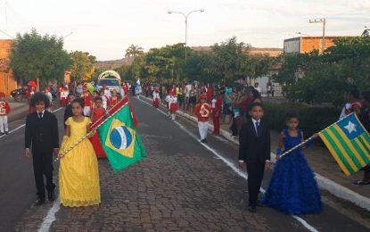 Prefeitura de Marcos Parente investe e garante um grande desfile no 7 de setembro