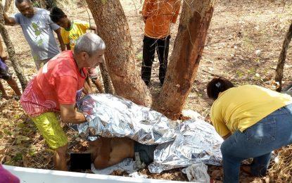 Pescador de Guadalupe morre em grave acidente de moto