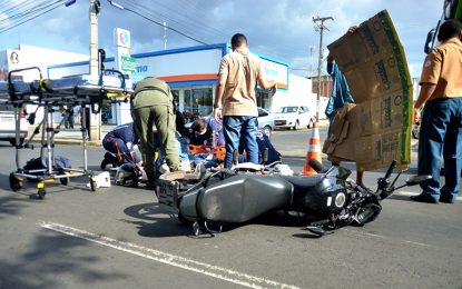 HUT diz que 84% dos atendimentos de acidente de trânsito envolvem motocicletas