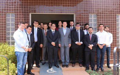 Inaugurada a sala de advogados da OAB em Landri Sales
