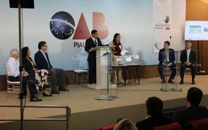 Sem W. Dias e Dr. Pessoa, debate na OAB é marcado por serenidade e propostas