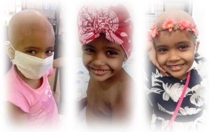 Criança de 5 anos precisa de ajuda para tratamento de Leucemia LLA
